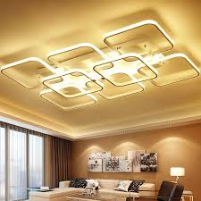 ceiling mounted lights square surface mounted modern led ceiling lights for living room inside remodel ceiling