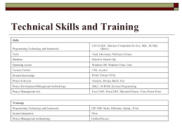 Technical Skills In Resume Inspiration Technical Skills For Resume Technical Skills Resume For Freshers