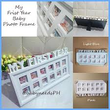 philippines baby photo frame my first year photo frame