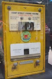 Stamp Vending Machine Mesmerizing Stamp Booklet Vending Machine Buying Stamps Here's A Vend Flickr