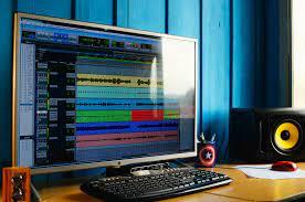 Fotoğraf : müzik, teknoloji, stüdyo, ses, karıştırma, multimedya, Ekran  görüntüsü, Estudio, Ses donanımı, masaüstü bilgisayar, kişisel bilgisayar,  bilgisayar ekranı, bilgisayar donanımı, Kişisel bilgisayar donanımı,  görüntü cihazı, bilgisayar programı ...