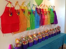 best 25 art party decorations ideas on paint birthday regarding art and craft party supplies