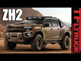Chevy Colorado ZH2: Is this Hybrid Hydrogen-Powered 4X4 Truck the ...