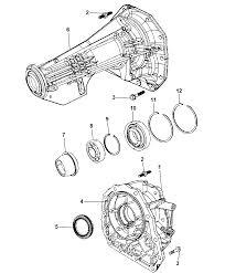 2007 chrysler aspen case adapter extension diagram i2171345