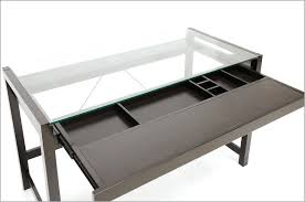 glass tops for desks amazing glass top desk with drawers within modern executive metal and ikea
