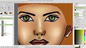 digital painting in gimp