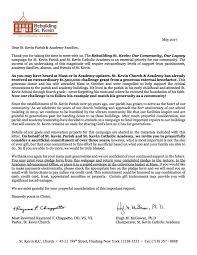 Solicitation Letter St Kevin Solicitation Letter For Website 5_17_17 St Kevin