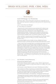 Hr Manager Resume Samples - Visualcv Resume Samples Database