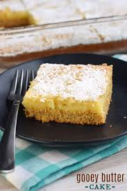 The Easiest Gooey Butter Cake Recipe