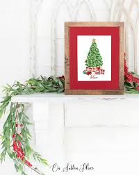 Free Printable Art For Christmas Wall Decor On Sutton Place