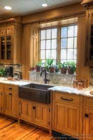 Love The Shelf For Plants Log Home Kitchens Mission Style Kitchens Rustic Farmhouse Kitchen