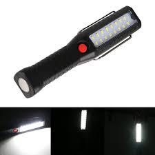 Usb Oplaadbare 16 Led Werklamp Magnetische Opknoping Inspectie Lamp Zaklamp Haak Camping Lamp Torch