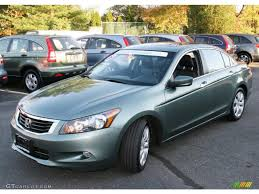 2008 Mystic Green Metallic Honda Accord EX-L V6 Sedan #39325639 ...