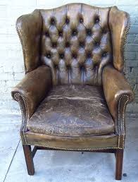 old wingback chair antique leather chairs pair for wingback chair slipcovers uk old wingback chair old hickory tannery leather