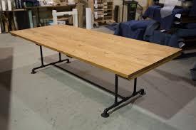 9ft Industrial Style Farmhouse Table Farmhouse Dining Table Etsy