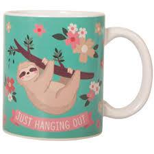 sloth heat changing mug
