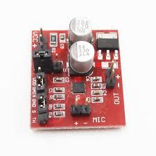 Max9814 3 Function Electret 6 Microphone Agc Amplifier Dc 12v Module rr0Uq
