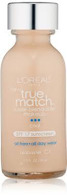 photo of loreal true match super blendable makeup cool alabaster c1 1 0 fl
