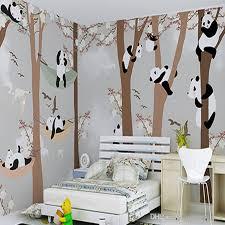 Lovely 3d Stereo Custom Children Room Wallpaper Boys Girls Bedroom Cartoon Cute  Panda Mural Wallpaper Wallpapers Hd Background Wallpapers Hd Free From ...