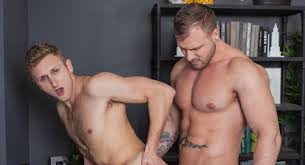 Hot hunky gay blond porn