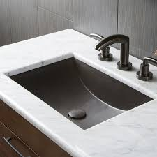 the undermount bathroom sinks copper stainless steel