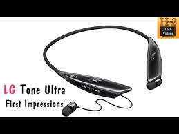 lg earbuds. new lg tone ultra bluetooth earbuds (hbs-810) - first impressions | h2techvideos lg