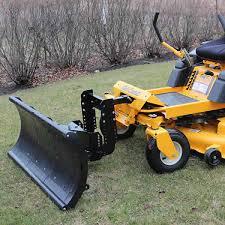 zero turn lawn mower accessories. zero turn mower snow plow attachment lawn accessories r