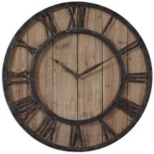 rustic wooden wall clock uk by size smartphone medium