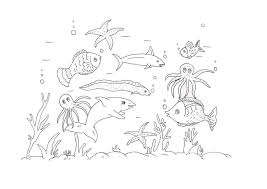 Small Picture Under The Sea Coloring Pages For Toddlers Coloring Pages