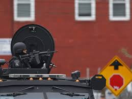 Police Getting Armored Vehicles From War - Business Insider
