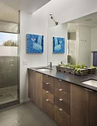 Modern bathroom art Grey Ineoteric Art Modern Bathroom Art