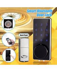 home security door locks. Bluetooth Smart Digital Door Lock Deadbolt Keyless Touch Password Home Security Locks C