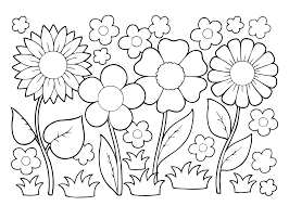 Kleurplaat Bloemen 26 Superleuke Gratis Kleurplaten Bloemen