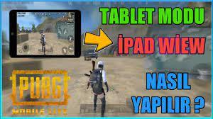TABLET MODU NASIL YAPILIR ? OHA !! 😱 (%100 GERÇEK) PUBG MOBİLE LITE -  YouTube