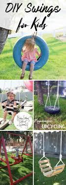 diy swings for kids