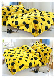 yellow polka dot quilt cover yellow polka dot duvet cover uk black yellow polka dot bedding