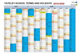Term Dates - Yateley School