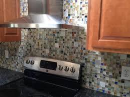 rainbow mosaics custom blend with recycled aluminum tile accents