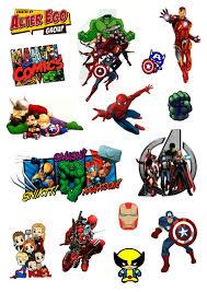 Купить «<b>Набор стикеров</b> «Герои <b>Marvel</b>»» по выгодной цене в ...