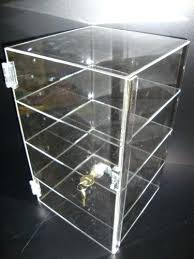acrylic countertop jewelry display cases transpa tower case showcase pastry bakery counter lock 0
