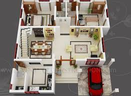 decor home design with 3d floor plan layout and 2 bedroom house