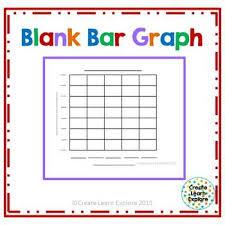 Blank Bar Graph Blank Bar Graph By Create Learn Explore Teachers Pay Teachers