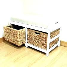 outdoor wicker storage bench seating wing by christopher knigh outdoor wicker