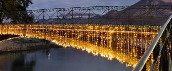 Eagle Point Park Christmas Lights Festive Decorative Lighting For Bridges Mk Illumination