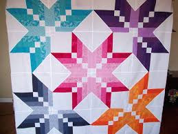 Winter Star Quilt I Like The Block Setting And The Colors This ... & Hunters Star Quilt Pattern History North Star Quilt Pattern Meaning Texas  Star Quilt Pattern Template Missouri Adamdwight.com