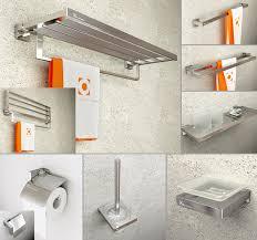 modern bathroom accessories. Sandblast Modern Bathroom Hardware Sets Spray Aluminum Solid Intended For Bath Accessories Plan 14 S