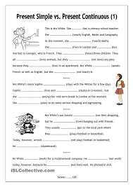 English Grammar Worksheets Present Continuous | Homeshealth.info
