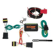 fiat 500 2012 2016 wiring kit harness curt mfg 56174 fiat 500 trailer wiring kit 2012 2016 by curt mfg 56174