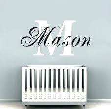 baby name wall decor monogram decals for wall with custom monogram wall decor baby nursery decor baby name wall decor