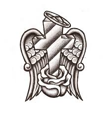 Cross With Wings Coloring Pages - free coloring pages | Free ...